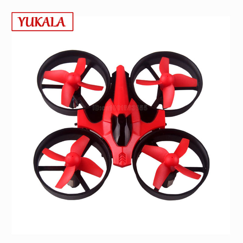NH-010 Mini Drone RC Quadcopter 2.4G 6-Axis Gyro 4 Channel Headless Mode One Key Return LED Suitable for night flight