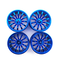 4PCS 52*26mm Wheel Rim Tire Hub for 1/10 RC On Road Touring Car HSP HPI Traxxas Tamiya Kyosho 1:10 Drift Spare Parts