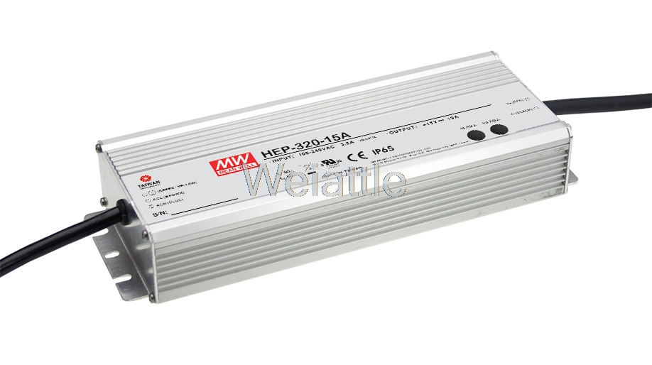 MEAN WELL original HEP-320-15A 15V 19A meanwell HEP-320 15V 285W Single Output Switching Power Supply 1mean well original hep 320 54a 54v 5 95a meanwell hep 320 54v 321 3w single output switching power supply