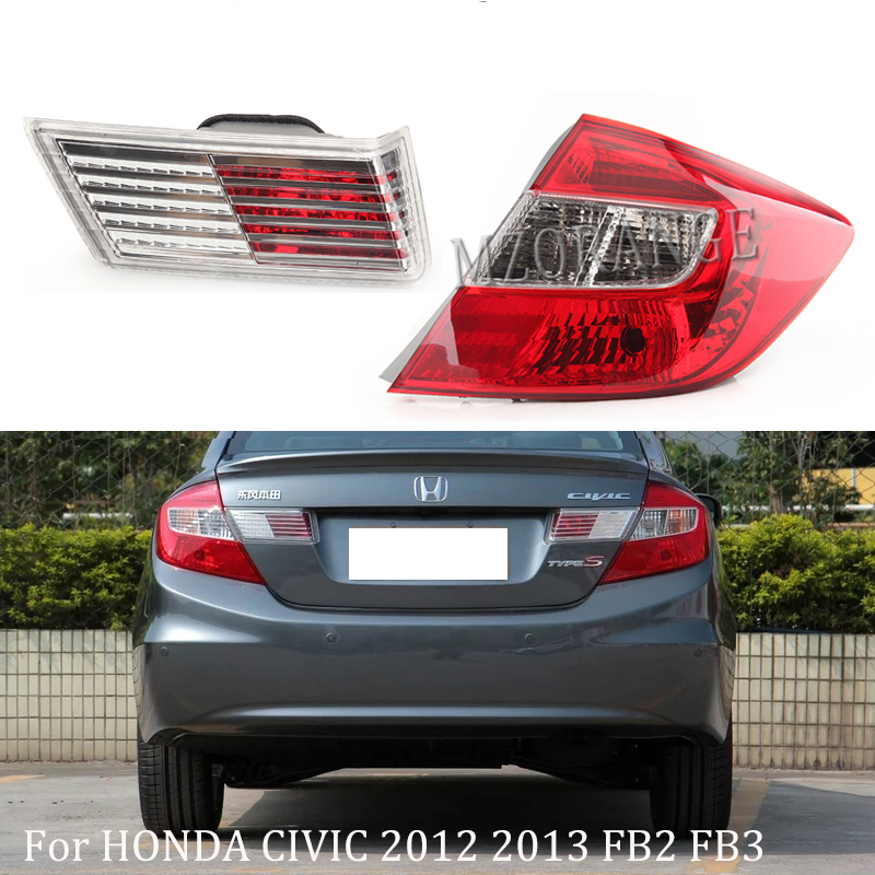 MZORANGE Car Styling High Quality Left Right Inner Outer Rear Tail Light Tail Lamp Trunk Lamp