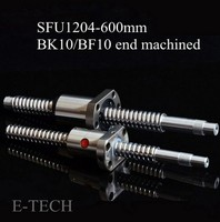 SFU1204 Complete Sets 1 Pc FWS SFU1204 L600mm End Of Mechanical Treatment For BK10 BF10 1