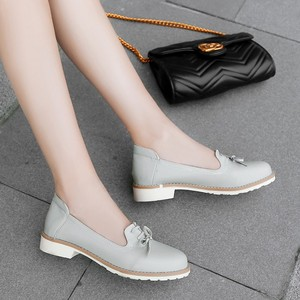 Image 1 - Big Size 11 12 ladies high heels women shoes woman pumps Single shoe casual footwear shallow round headed woman