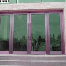 50*100cm Hsxuan brand Insulation stained Window Film Solar Reflective One Way Mirror 99% UV static cling glass stickers 509011