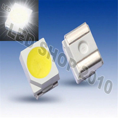 100Stks POWER TOP SMD SMT White PLCC-2 3528 1210 Super Bright Light LED NEW