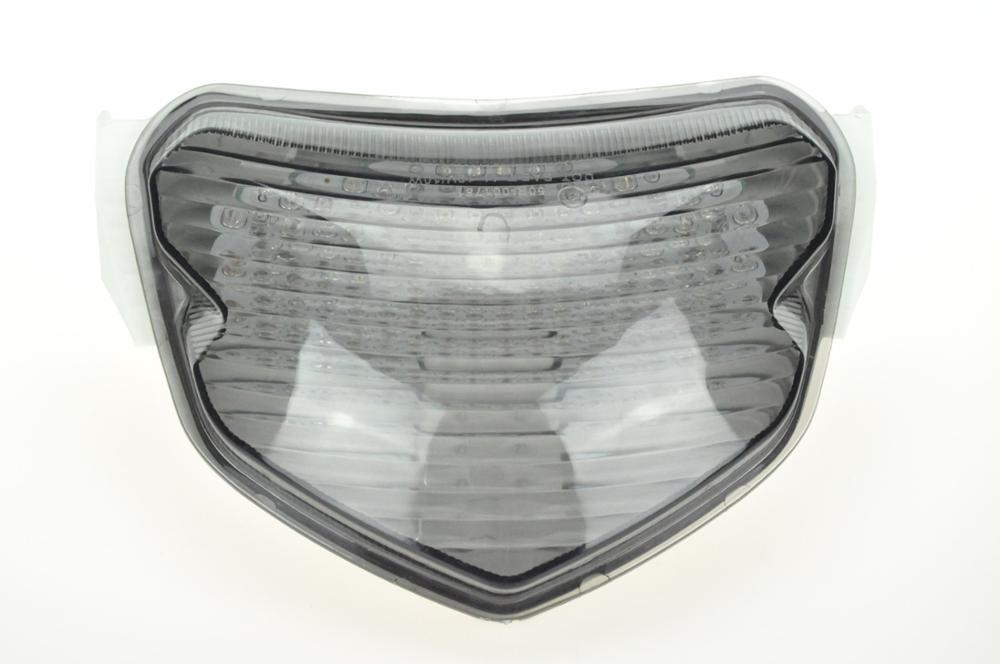 Светодиодный Встроенный задний фонарь указателя поворота для SUZUKI GSXR 600/700 04-05 - Цвет: Темно-серый