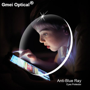 Image 2 - Anti Blue Ray Lente 1.61 Alto Índice Leitura Óculos de Proção Da Lent Para Os Olhos