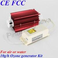 Pinuslongaeva 10G/H 10grams Quartz tube type ozone generator Kit multifunction ozonator for swimming pool ozonizer for fish farm