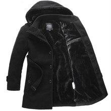 Новый 2016 зима повседневный стиль утолщение руна теплый шерсти с капюшоном пальто с поясом пальто мужчины мужская одежда размер m-6xl NDY14