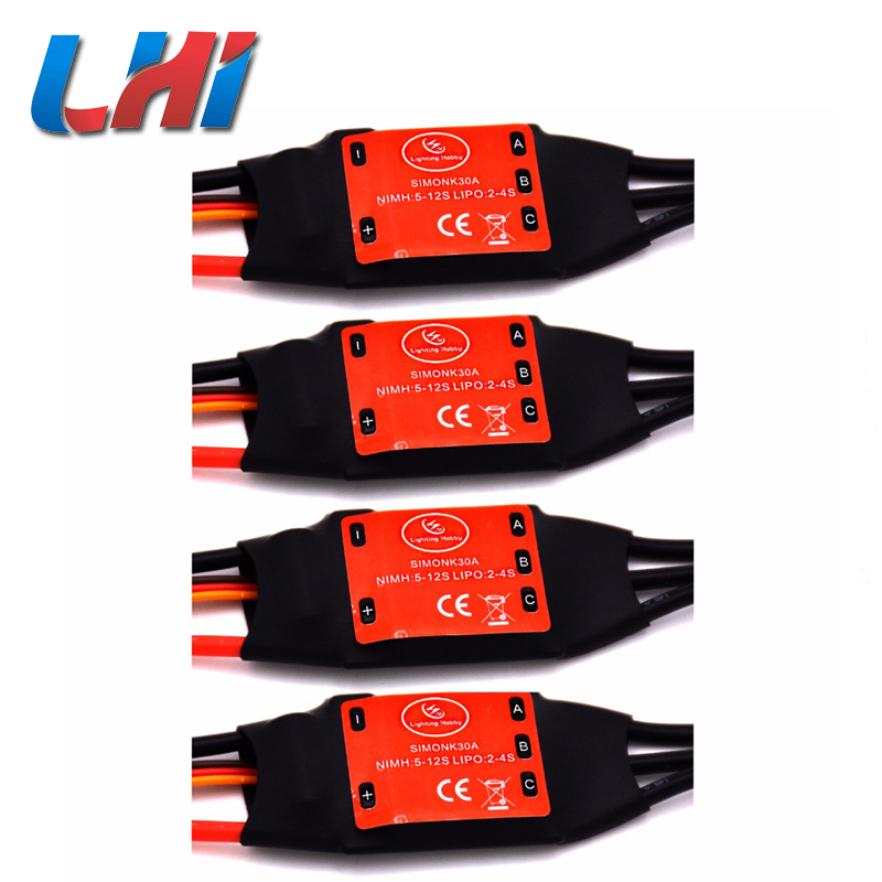 2017 Direct Selling Time-limited Brushless Servo Hsp Simonk 30a Brushless Speed Controller Rc Bec For T Rex 450 Helicopter lhm005 30a brushless motor speed controller control rc bec esc for t rex 450 helicopter