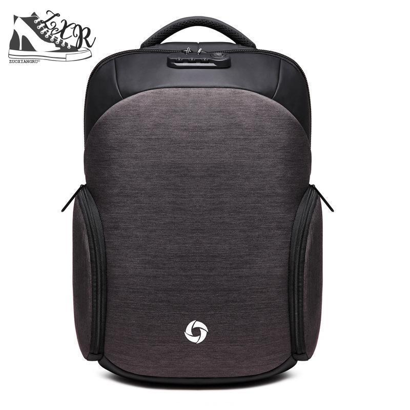 цены Zuoxiangru Men's Backpacks Anti-theft Backpack Multifunction Business Travel Usb Charging Laptop Backpack Mochila Casual School