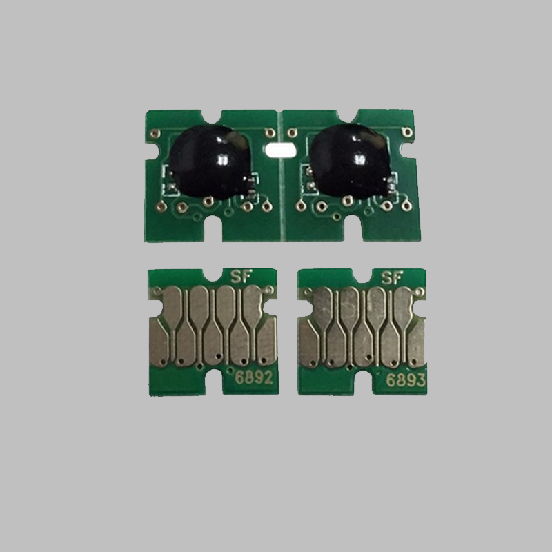 vilaxh T6891 - T6894 Cartridge Chip For <font><b>Epson</b></font> SureColor <font><b>S30670</b></font> S50670 Printer T6891 T6892 T6893 T6894 One Time Chip image