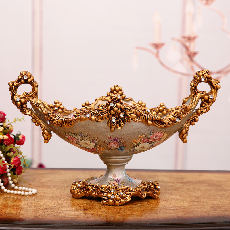 Home Furnishing large fruit plate decoration luxurious ...