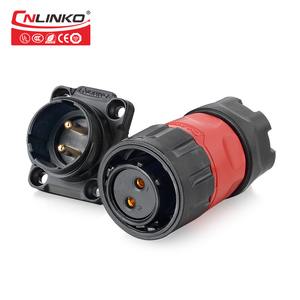 IP67 M20 2pin 3pin 4pin 5pin 7pin 9pin 12pin power signal wasserdichten stecker licht solar panel stecker LED display connector quick electrical cable connector professional audio car ac  socket female male adapter