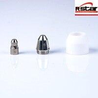 Плазменный резак аксессуары 100 шт. P80 расходные факел резки электрода/советы подходят 80A плазменный резак