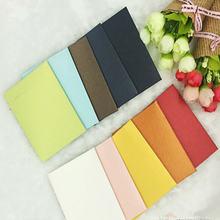 100 шт/лот мини конверты ручной работы винтажные цветные жемчужные