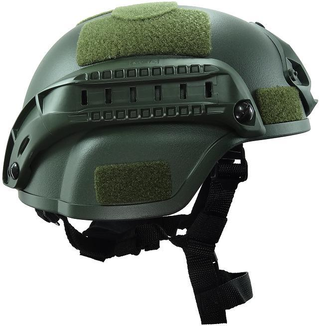 ABS Material Black Green Tan Grey 4 Colors Most Popular MICH2000 Tactical Helmet Game Helmet