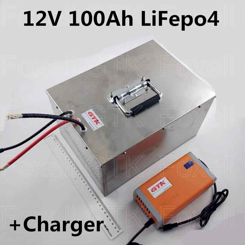 Aliexpress Com Buy 100 Ah 12v Lifepo4 Deep Cycle Battery