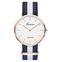Распродажа, нейлоновый ремень ремешок стиль кварцевые для женщин часы Лидирующий бренд часы модные повседневное модные наручные часы Relojes