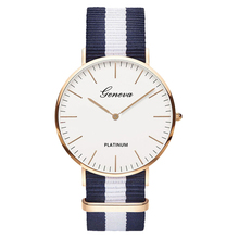 Hot Sale Nylon strap Style Quartz Women