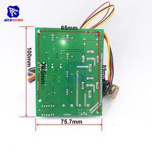 Image 2 - Diymore dc 10  50v 40A pwm dcモータ速度コントローラフォワード調整可能なポテンショメータスイッチledデジタルディスプレイ