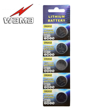 100pcs/20pack Wama Original 3V Button Cell Coin Batteries LIthium CRR2032 DL2032 SB-T15 EA2032C ECR2032 L14 Car Remote Battery