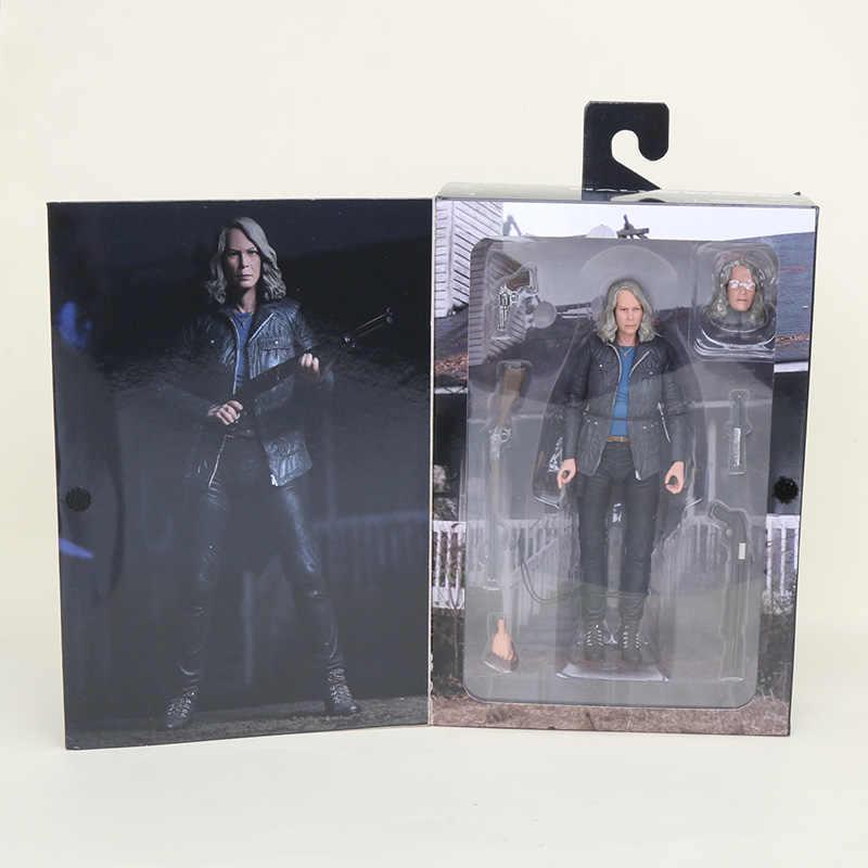 18cm NECA Alien Halloween Ultieme Laurie Strode neca Action Figure Collectible Model Toys Halloween Geschenken