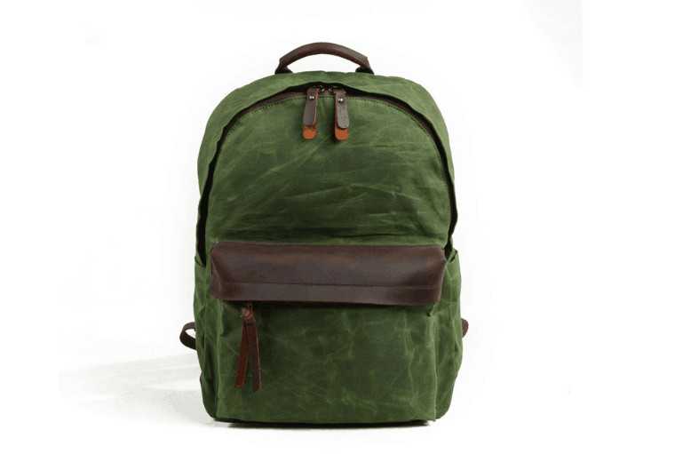 Холст большой емкости для отдыха на открытом воздухе водонепроницаемый рюкзак для мужчин