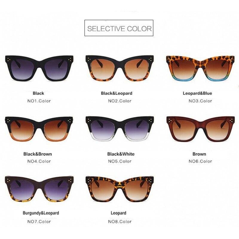 dc81a7a9881fc Yaobo mode luxe lunettes de soleil femmes marque Designer 2018 été Style  lunettes de soleil pour femmes dame femme lunettes de soleil chat yeux dans  ...