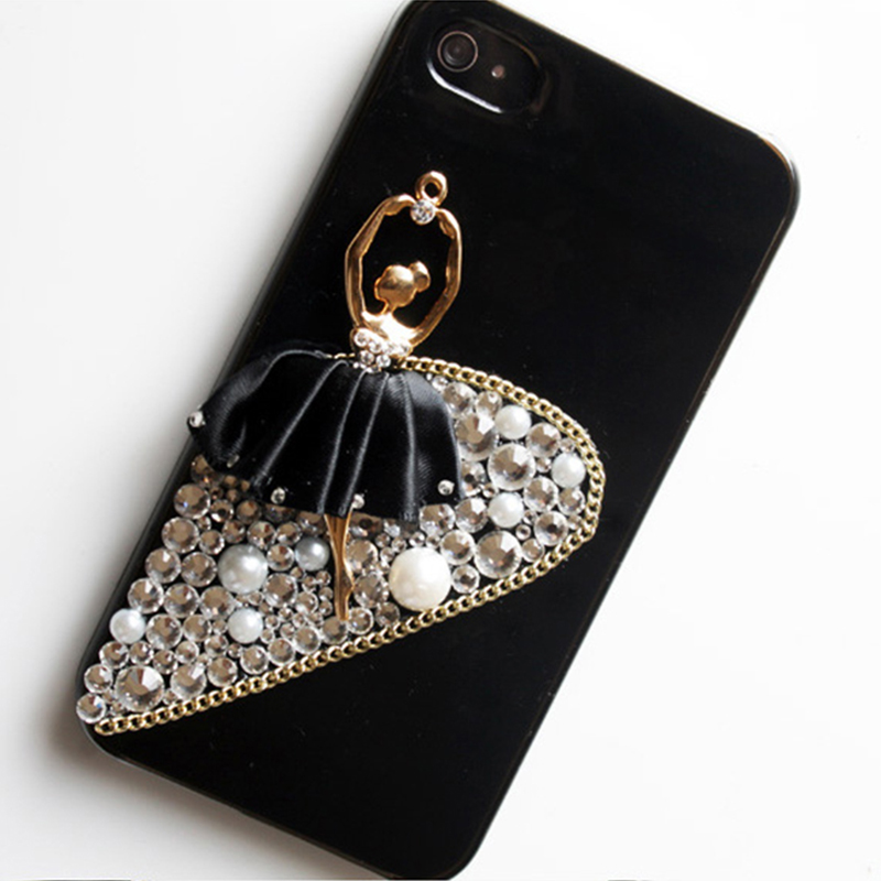 new arrivals c9658 a8e02 US $10.04 |Fashion Bead Ornaments Ballet Back Cover for Xiaomi Mi5 Mi Note  2 for Xiaomi Redmi Note 4 Case on Aliexpress.com | Alibaba Group