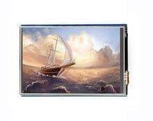 شاشة Waveshare 3.5 بوصة تعمل باللمس LCD درع 480x320 القرار مقاوم شاشة تعمل باللمس TFT LCD