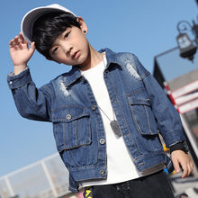 2020 Boy New Hot Sell Spring Boys Jackets For Children Cute Windbreaker Kids Coats Baby Clothes Outerwear Clothing 4-15t Costume(China)