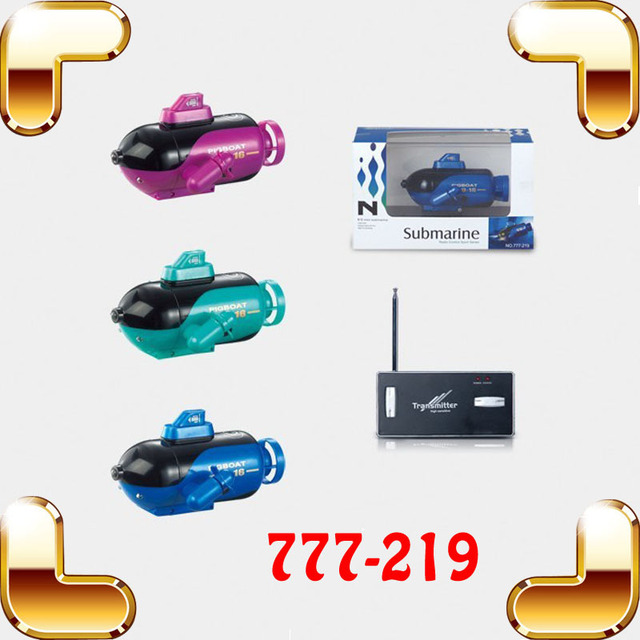 Christmas Gift 4 CH Radio Control Boat Submarine Mini Submarine With LED RC Toy For Children Electric Submarine Water Boat Game