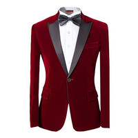 Custom Made New Style Mens 2 piece Suit Peaked Lapel One Button Tuxedo Slim Fit Dinner Jacket Men Suit Jackets