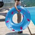YUYU Фламинго поплавок для бассейна 120 см надувной плавательный бассейн Фламинго принтер кольцо для плавания круг для бассейна игрушки