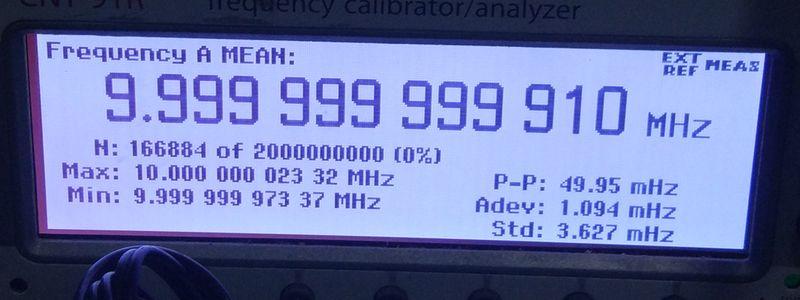 Freeshipping PLL GPSDO GPS Tame Disciplined Clock Sine Wave GPS Receiver 10M DC5V GPS ant power