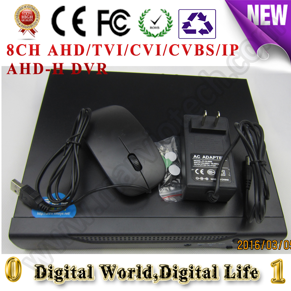 ФОТО 4CH AHD/TVI/CVI/CVBS/IP Digital video recorder AHD-H DVR HVR NVR, support cctv analog/ahd/cvi/tvi/1080p ip Camera onvif
