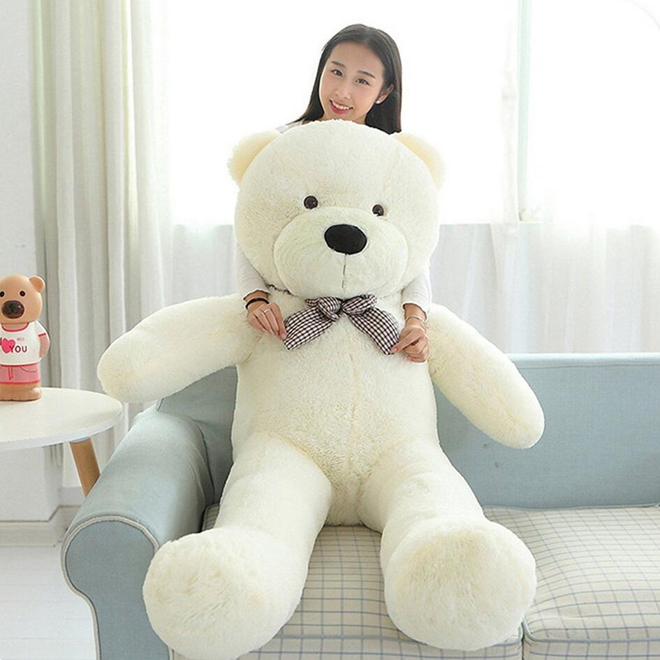 5e1abe8f86a 47  Giant Big Huge White Teddy Bear Plush Stuffed Soft Toys doll kids Gift  120cm-in Stuffed   Plush Animals from Toys   Hobbies on Aliexpress.com