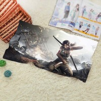 New Tomb Raider Travel Swim Spa Beach Towel For Kids Adults Baby Bathroom Textile 70 140CM