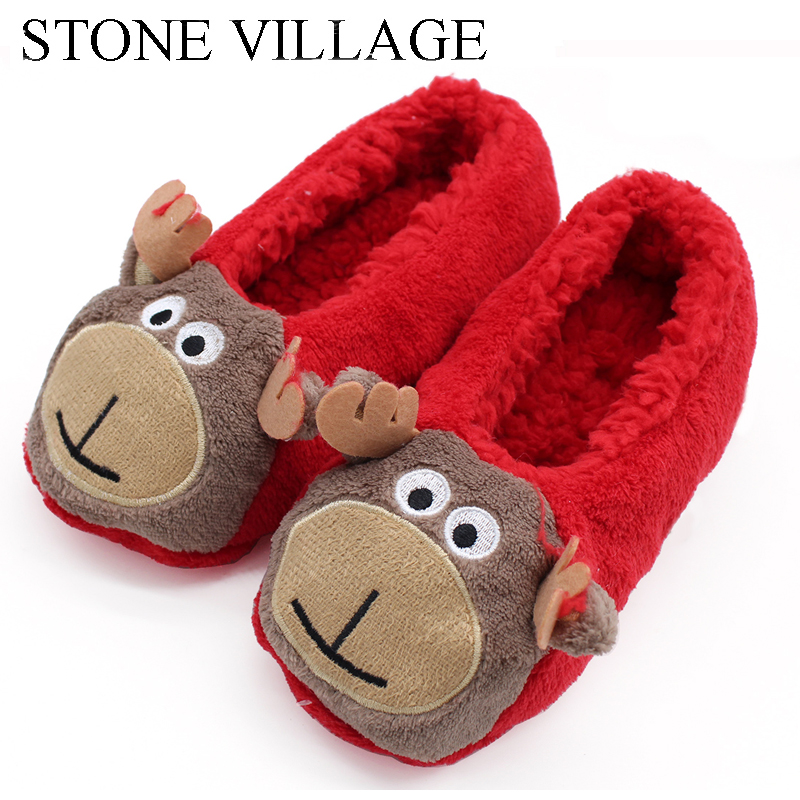 New Arrival Home Slippers Cartoon Soft Wool Warm Winter Plush Slippers Shoes Animal Prints Cute Christmas Shoes Women SlippersNew Arrival Home Slippers Cartoon Soft Wool Warm Winter Plush Slippers Shoes Animal Prints Cute Christmas Shoes Women Slippers