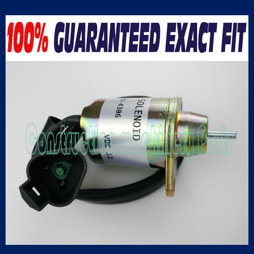 New 12V Fuel Stop Solenoid 1500-3076 1500-3024 fit for Yanmar Engine