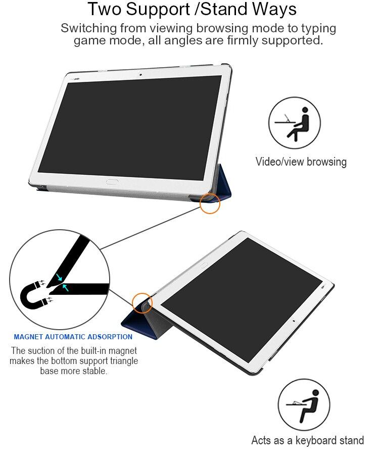Case for 10 1'' Huawei MediaPad M3 Lite 10 protective cover skin case for  BAH-W09 BAH-AL00 10