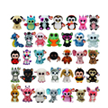 10pcs/set Hot Ty Beanie Boos Big Eyes Small Unicorn Plush Toy Doll Kawaii Stuffed Animals for Children's Toy/Christmas Gifts
