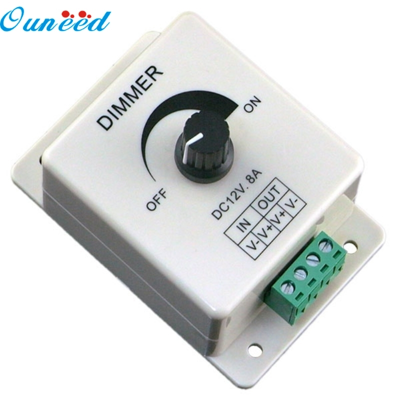 Furniture Ouneed Happy Home 1pc 12v 8a Pir Sensor Led Strip Light Switch Dimmer Brightness Adjustable Controller Easy And Simple To Handle