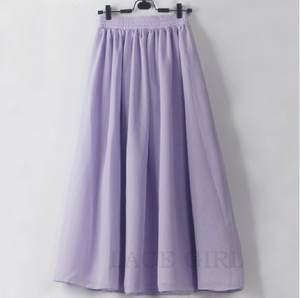 Chiffon Skirts Summer The in And Aa Saia Star with Bust 1158/complementary-Color New-Products