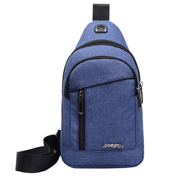 Fashion Men's Outdoor Sports Oxford Cloth Crossbody Shoulder Bag Breast Bag Waist Bag Y415 3