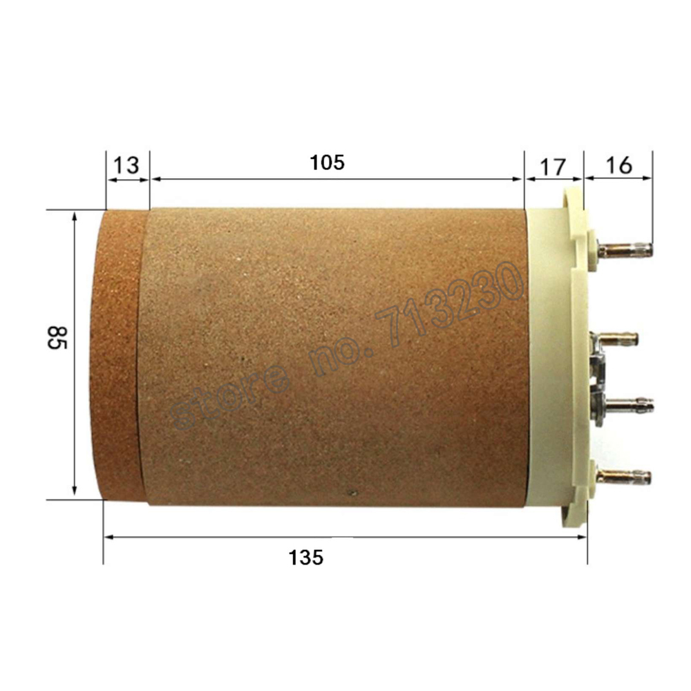 3*400V 16KW heat elements for  hot air gun plastic welder heating resistance replacement