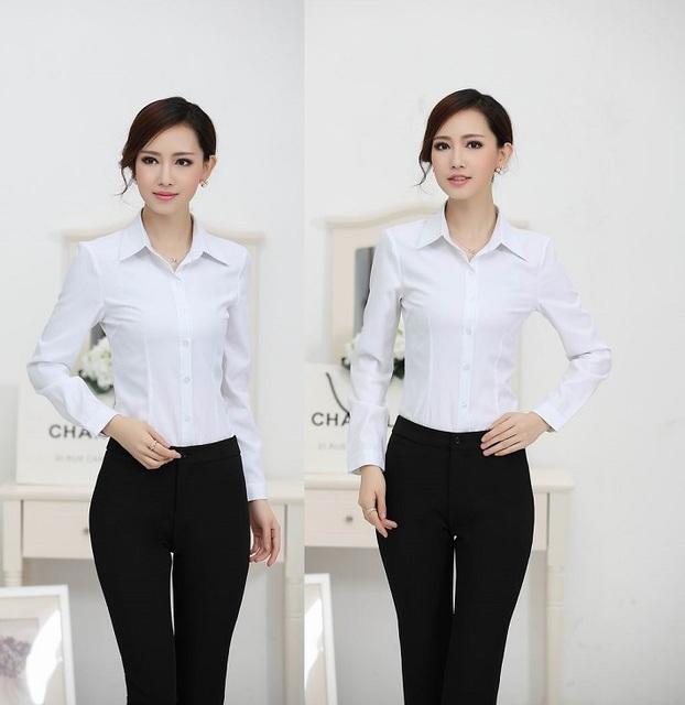 Nova Plus Size 2015 desgaste Formal de trabalho Pantsuit Tops e Pant roupa senhoras de escritório de negócios uniforme vestuário Set Pant ternos