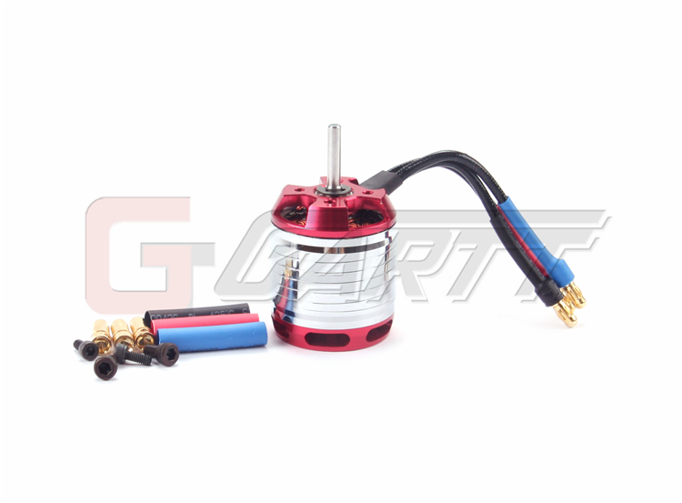 Gartt  HF450L-1800KV Brushless Motor For 450L Align Trex RC Helicopter gartt helicopter parts 3600kv 210 w brushless motor for 250 align trex rc helicopter red