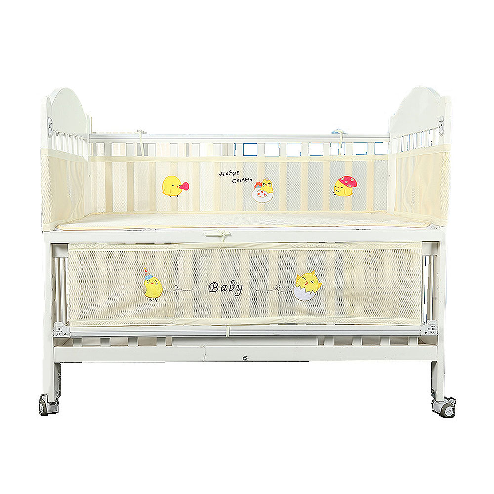 Crib Enclosure Summer Breathable Universal Crib Play Fence
