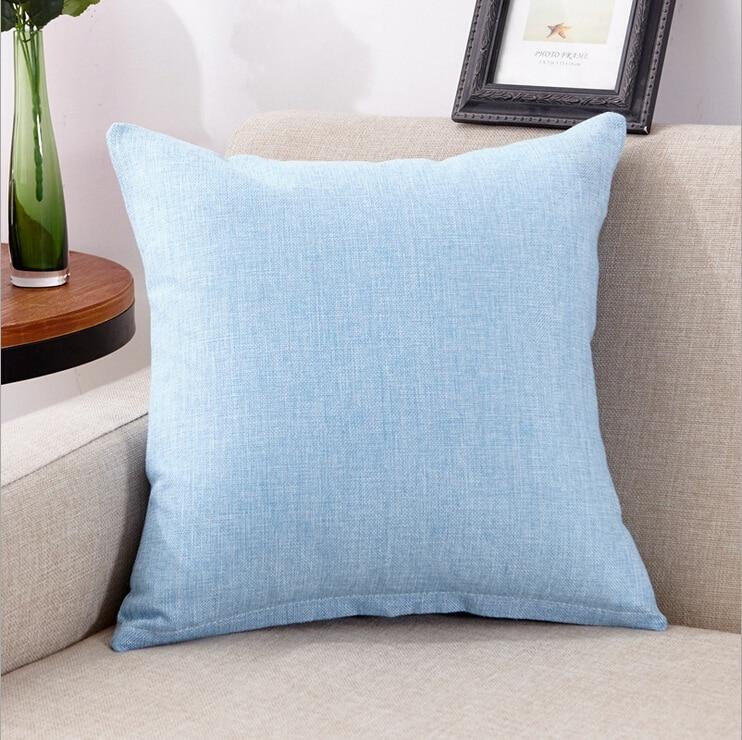 HTB1cDeBeiqAXuNjy1Xdq6yYcVXaO 45x45cm New Soft Multicolor Choice Tailored Edge Poly Cotton European Cushion Home Decor